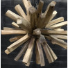 Lustre en bois design nature