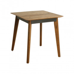 Table carrée en bois de 75 x 75 cm